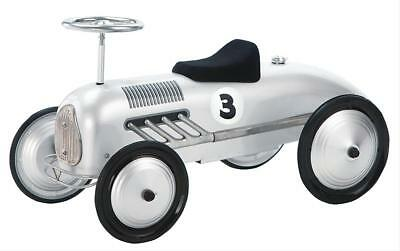 """GHH Child's Scooter Car Ride-On Silver Streak 31"""" Length 16"""" W 14"""" H Each"""