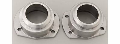 Moser Eng Axle Housing Ends Forged Steel Zinc Plated Big Ford New Style Pair