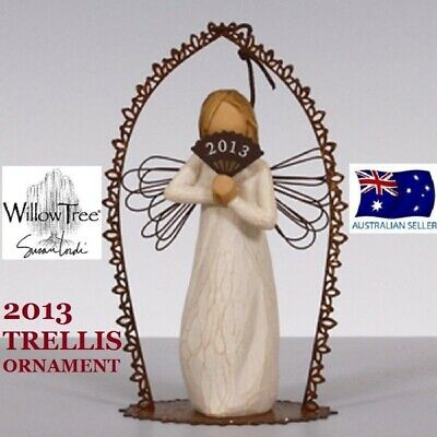 2013 TRELLIS ORNAMENT Demdaco Willow Tree Figurine By Susan Lordi BRAND NEW