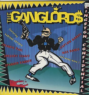 Ganglords ‎– Kingston Confidential ORIG SWISS LP NEAR MINT Gangproduction ‎