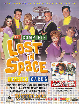 LOST IN SPACE THE COMPLETE 2005 RITTENHOUSE PROMO PROMOTIONAL SELL SALE SHEET