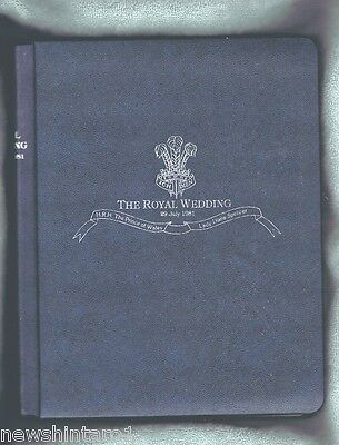#t37.  1981 Royal Wedding Collection Of Stamps In Folder