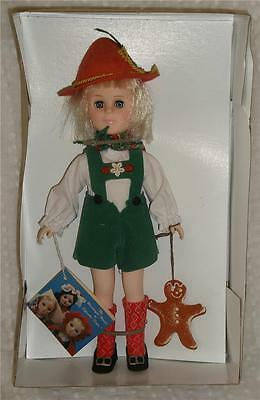 """EFFANBEE 11"""" STORYBOOK - HANSEL- with TAGS - MADE IN USA 1985"""
