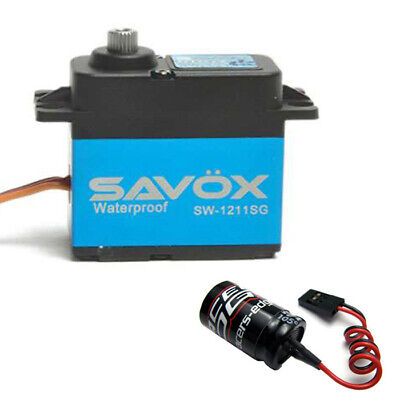 Savox SW1211SG WATERPROOF CORELESS DIGITAL SERVO W/Glitch Buster