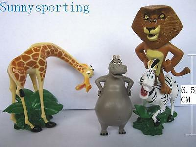 Madagascar 4 FIGURES Alex Marty Gloria & Melman