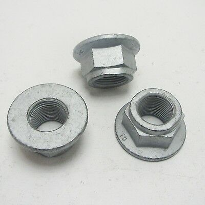 Hex nut with Flange according to MBN 13023, Frame screw 10.9