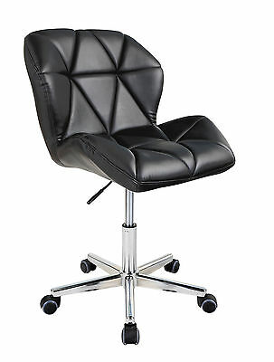 Modern Uranus Padded Swivel PU Leather Computer Desk Office Chair