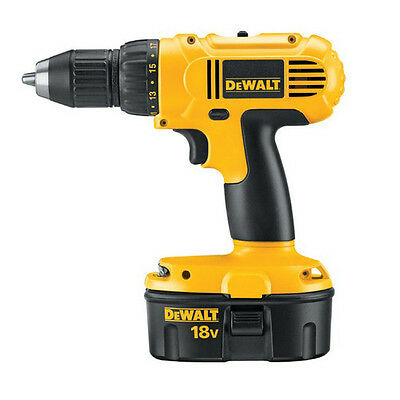 "DEWALT 18V 1/2"" Adjustable Clutch Drill Driver Kit DC970K-2R"