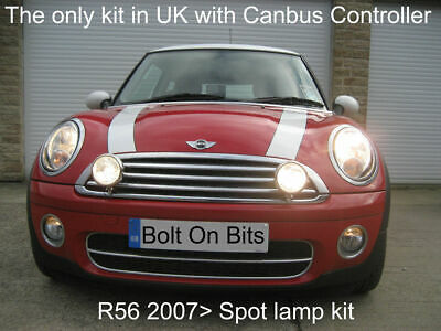 2 WIPAC Spot light/Lamp Kit R56 Mini First One Cooper S 2007 2008 2009 2010 2011