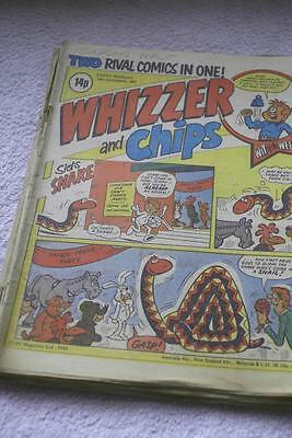 Whizzer & Chips Comic 19 December 1981