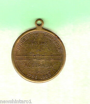 #D60.  JUBILEE OF CANBERRA MEDAL 1913 to 1963