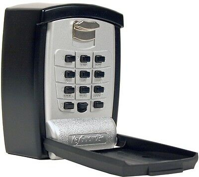 Wall Mount Key Storage Lock Box Push Button Lockbox - seniors, medical emergency