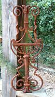 FOUNTAIN CREST Cast Iron Wrought Garden Decorative Gate