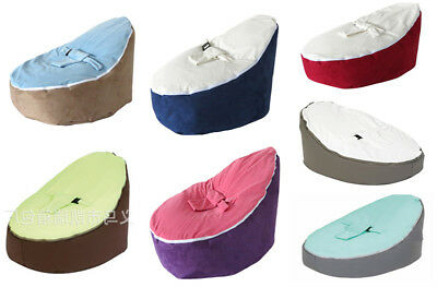 New UNFILLED 2 Layer Baby Bean Bag Chair/Bed Todler Kid Portable Seat