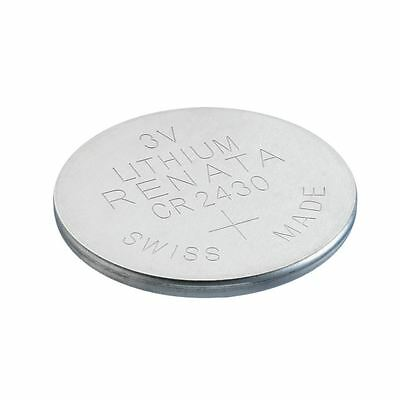 Renata CR2430 Swiss Made 3V Lithium Coin Cell Battery