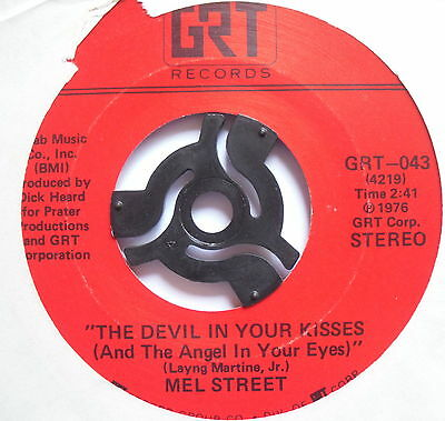 """MEL STREET - The Devil In Your Kisses - Excellent Condition 7"""" Single GRT-043"""
