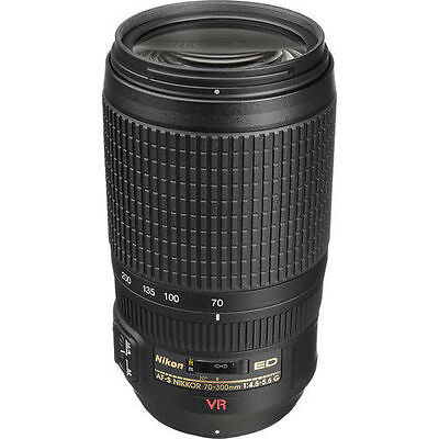 Nikon AF-S 70-300mm f/4.5-5.6G VR Zoom-NIKKOR IF-ED Telephoto Zoom Lens