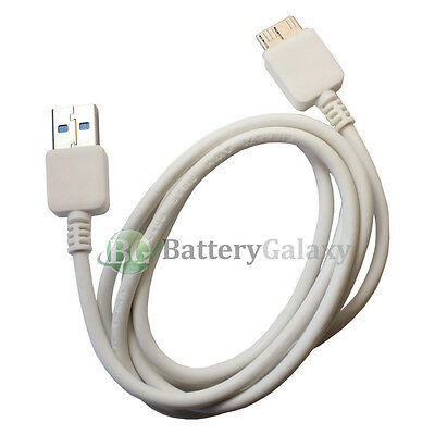 20x White USB 3.0 Charging Cord Data Sync Cable for Samsung Galaxy S5 SV Note 3