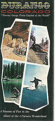 Vintage Brochure for Durango Colorado