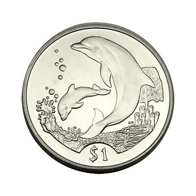 elf Br Virgin Isl 1 Dollar 2005  Dolphin