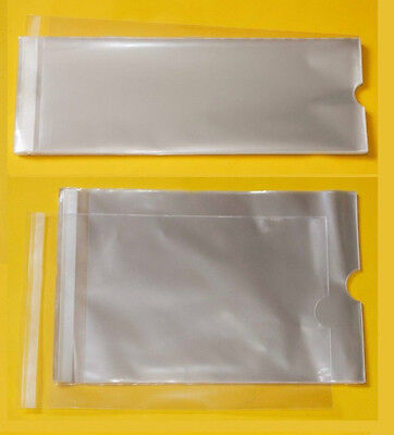 Clear Calendar Cello Bags - Cellophane Display Bag for Calenders with Cut Outs