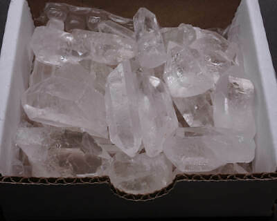 Quartz Crystal Collection Fine Small Points 40 - 75 pcs 1/2 Lb Lots