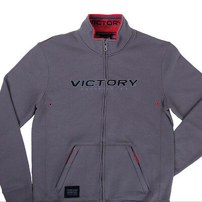 Victory Mens Midway Zip Thru Grey Extra Large