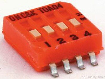 DIP SWITCH, POSITION 8, Part # TDA08H0SB1