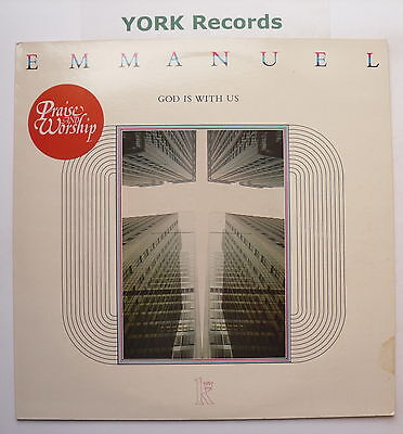EMMANUEL - God Is With Us - Excellent Condition LP Record Kingsway KMR 329