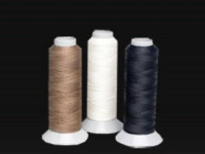 Lincoln Plaiting Thread Reel for Horse & Pony 250 Metres Black, Brown, White,