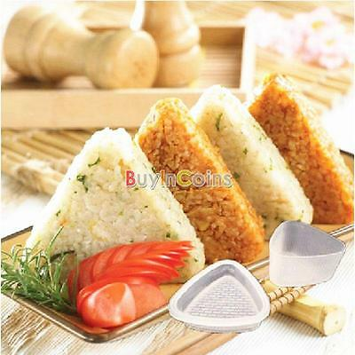 1 set Form Triangolo Mold Sushi Onigiri Bento Press Maker Mold strumento