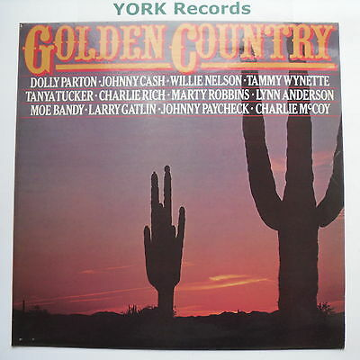 GOLDEN COUNTRY - Various - Excellent Condition LP Record Hallmark SHM 3058