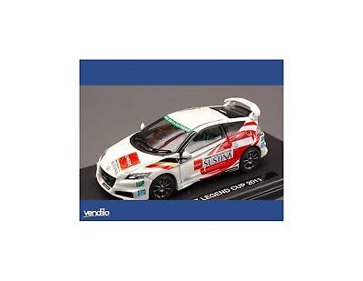 Ebbro EB44692 HONDA CR-Z LEGEND CUP 2011 WHITE (DECALS FOR N.3/15/32/37) 1:43 Mo