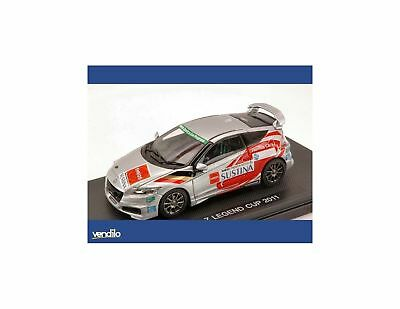 Ebbro EB44695 HONDA CR-Z LEGEND CUP 2011  SILVER (DECALS FOR N.14/17/82) 1:43 Mo