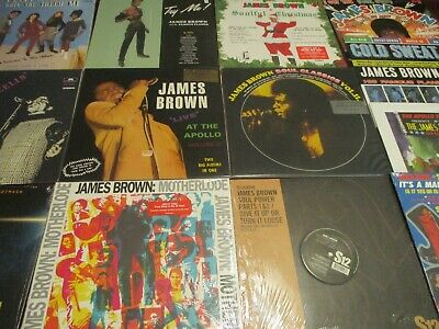 James Brown Collection Hits Apollo I & Ii Think 45 Singles Cold Sweat Feel Good