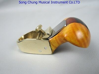 """Thumb brass convex bottom planes 1 7/8"""" violin.cello bass.woodworking tool #585"""