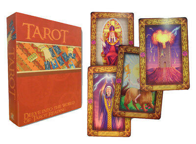 Easy Tarot Cards Deck and Book Set Collection Gift Pack Psychic Learn Read NEW