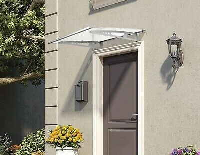 1.4m x 1m OUTDOOR DIY DOOR / WINDOW AWNING POLYCARBONATE COVER