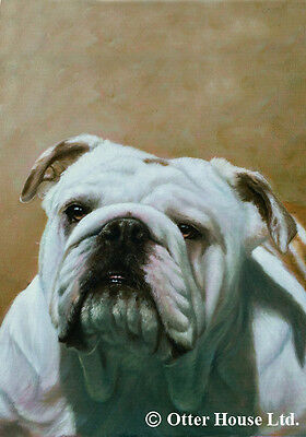 Garden Indoor/Outdoor Portrait Flag - English Bulldog (JS) 50025