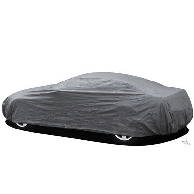 2 Layer Car Cover Fitted Indoor OutDoor Light Weight Sun Dust UV Rays Breathable
