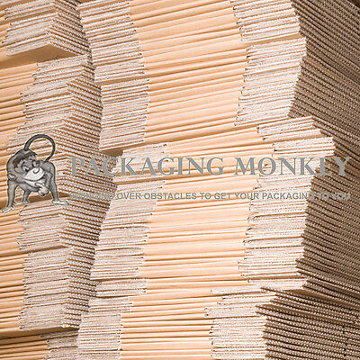 """25 x LARGE S/W CARDBOARD POSTAL MOVING MAILING BOXES 19x12.5x14"""" SINGLE WALL"""