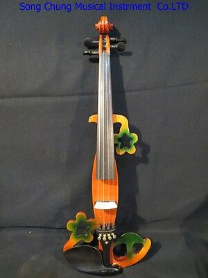 New Song design  streamline 4/4 electric violin,solid wood #5310