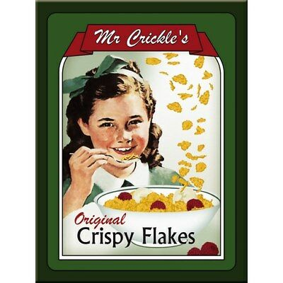 MAGNET 14192 - Mr CRICKLES CRISPY FLAKES - 8 x 6 cm - NEU