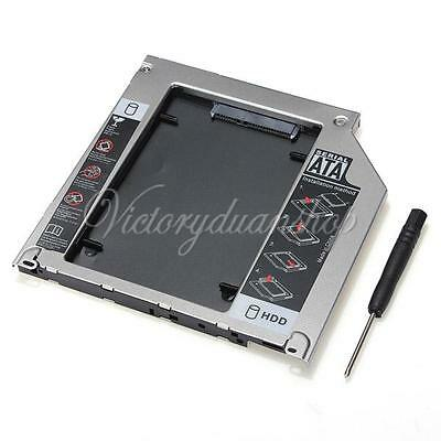 2nd SATA SSD HDD Hard Drive Bay Caddy For Apple MacBook Pro Unibody SuperDrive
