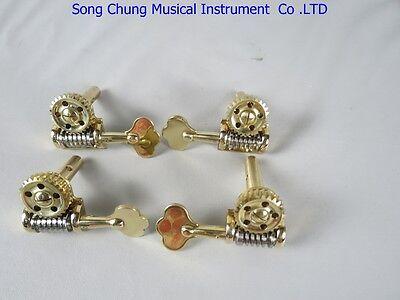 1set of  Germany style  double bass machine head pegs 3/4-4/4,