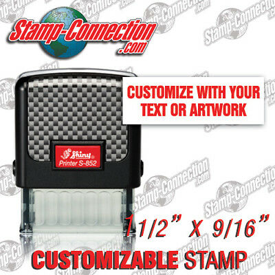 Shiny S-852 Self-Inking 3 Line Custom Stamp