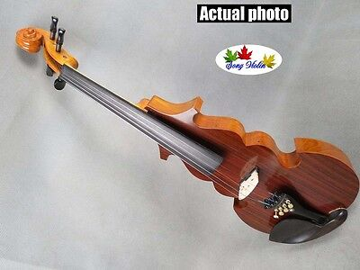 SONG Brand streamline 4/4 electric violin,Plywood back and top #5288