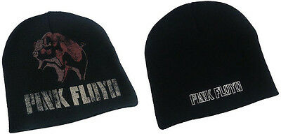 Pink Floyd: Animals Flying Pig Beanie Hat - New & Official With Tag