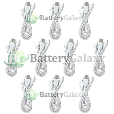 10 USB 10FT Micro Cable for Phone Samsung Galaxy S3 S4 S5 S6 S7 Note 1 2 3 4 5