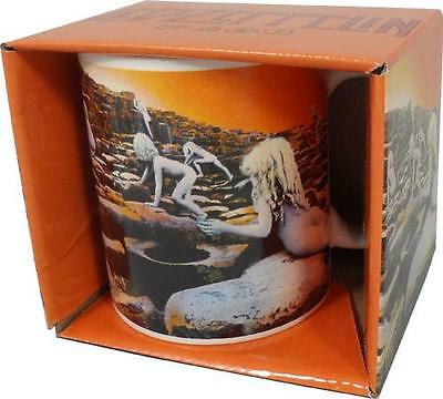 Led Zeppelin: Houses Of The Holy Ceramic Coffee Tea Mug - New & Official In Box